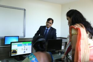Computer Lab With Teachers SRBS Management Institute