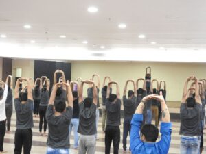 International Yoga Day SRBS Architecture Institute
